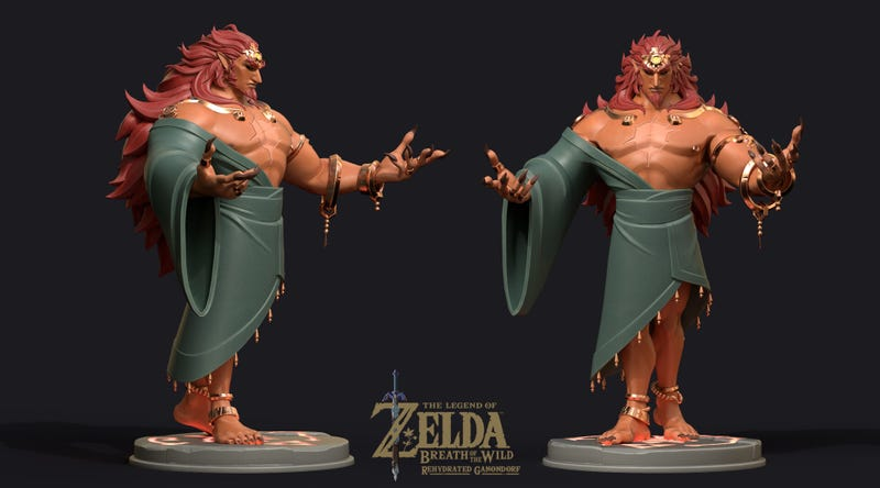 What Ganon From Breath Of The Wild Might Actually Look Like