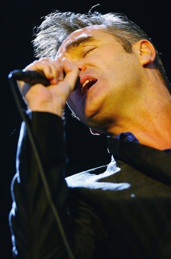 Illustration for article titled Morrissey Collapses On Stage, Is Taken To Hospital