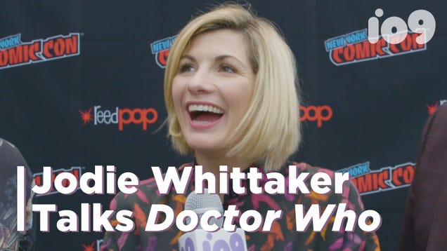 We Asked Jodie Whittaker What She Wants Her Legacy as the Doctor to Be