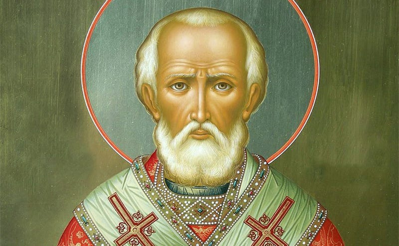 Retrato de San Nicolás. Imagen: YouTube