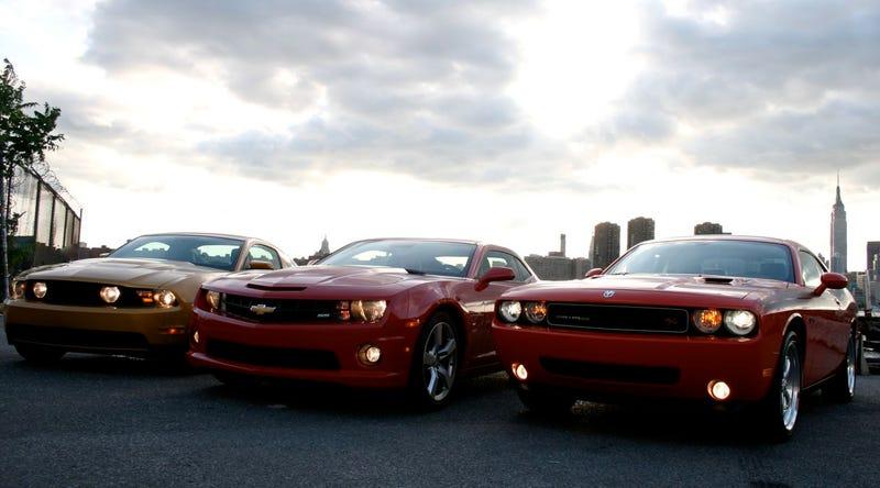 Mustang Vs Camaro Vs Challenger >> Muscle Car Wars: Camaro vs. Challenger vs. Mustang