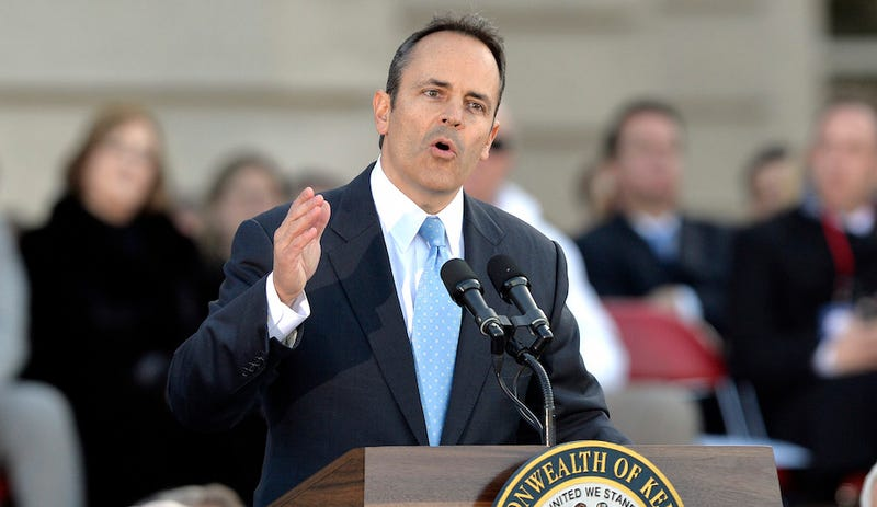Illustration for article titled Kentucky's Matt Bevin-Shaped Nightmare Begins With Rollback of Voting Rights, Minimum Wage