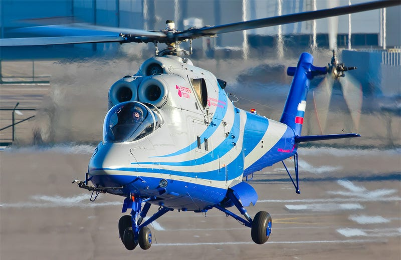 Illustration for article titled Meet Russia's New High-Speed Helicopter Testbed