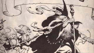 Illustration for article titled Frank Frazetta's Lord of the Rings illustrations brought barbarian armor to Middle Earth