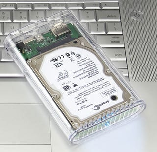 Illustration for article titled OWC 160GB 7200rpm Drive In Pocket-Sized Enclosure Does a Quick Three-Way