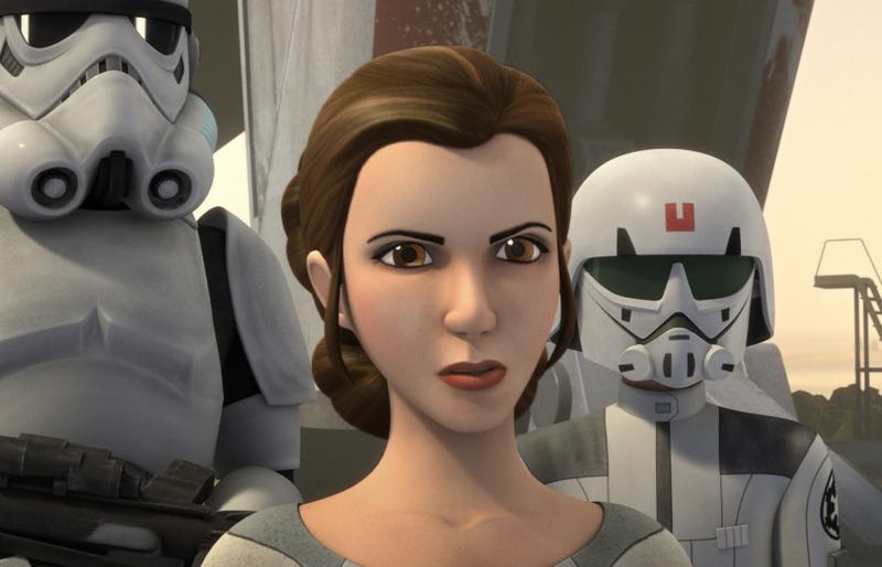 Illustration for article titled A Teenage Princess Leia Will Appear on Star Wars Rebels This Month