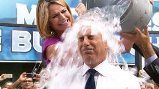 Illustration for article titled Pouring a Bucket of Ice Water Over Your Head Won't Cure ALS