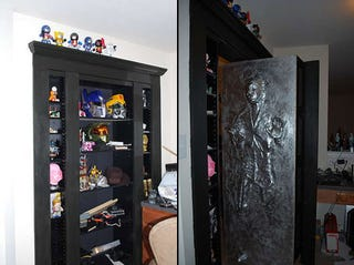 Captivating Any Secret Door Wins Me Over Instantly, But A Secret Door That Reveals Han  Solo Frozen In Carbonite? Wow. Just Wow. And It Only Cost $150 To Install.