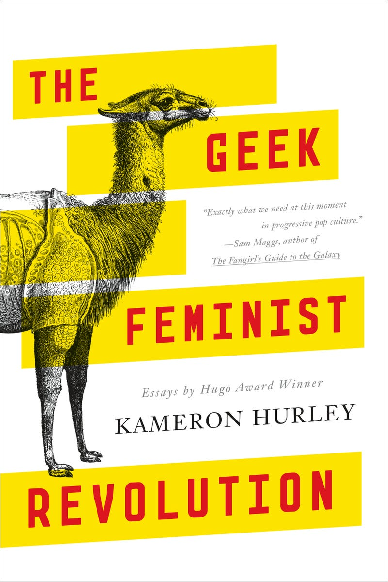 the geek feminist revolution is an essential commentary for the  the geek feminist revolution is an essential commentary for the geek world