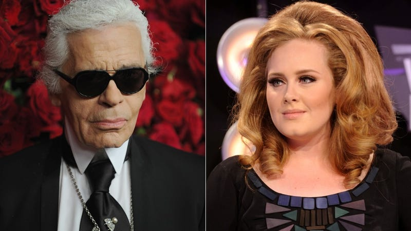 Illustration for article titled Karl Lagerfeld Is Very Sorry He Called Adele Fat