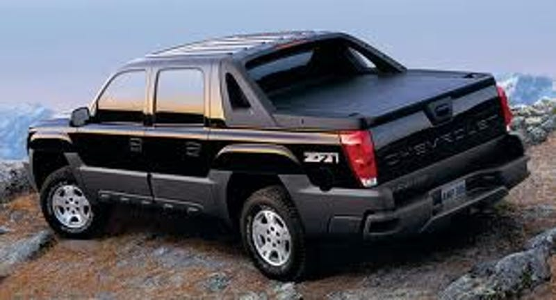 Why The Chevy Avalanche Is The Vehicle Of Asshats Everywhere