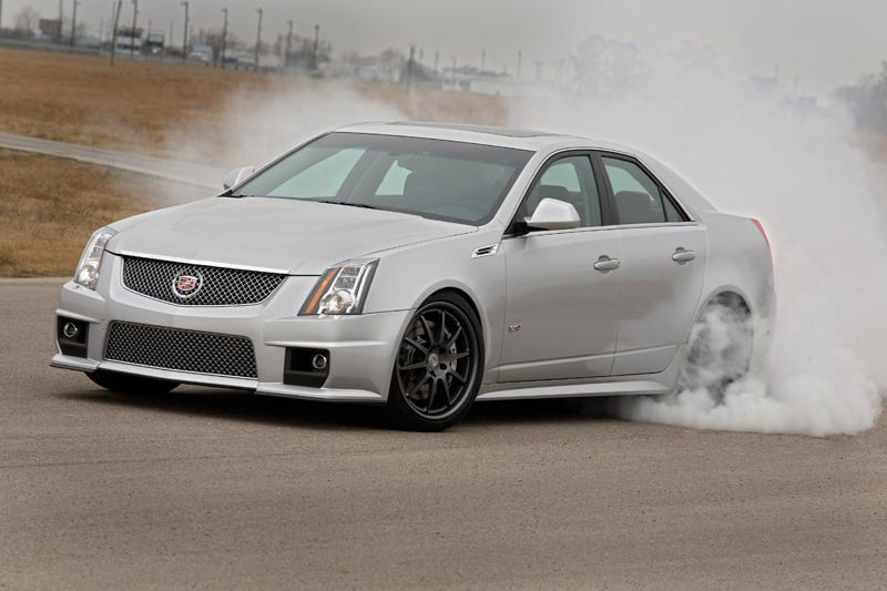 Illustration for article titled You Can Rock This Baller STS-V For The Price Of The Average New Car