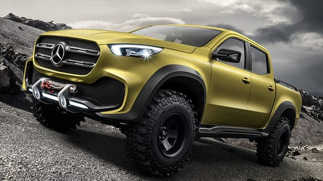 2018 Mercedes Pick Up Truck >> The 2018 Mercedes Benz X Class Luxury Truck Is Finally Real