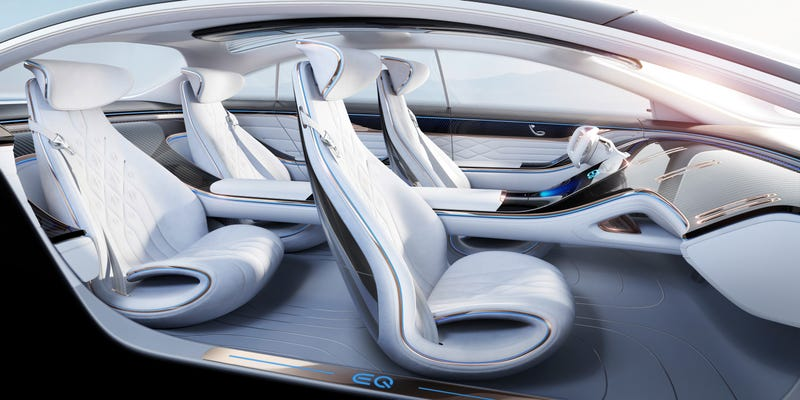 Illustration for article titled Mercedes-Benz EQ Concept Shows Off Its Idea For The Future Of Car Interiors