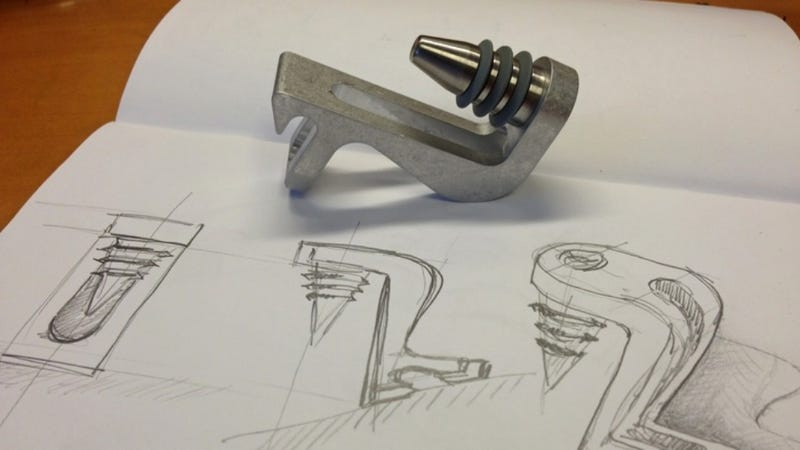 Illustration for article titled This Bottle Opener-Stopper Combo Is Flash Gordon's Only Bar Tool