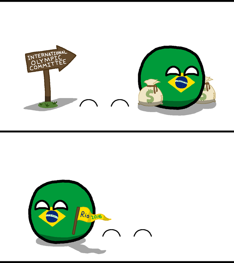 Illustration for article titled Daily Polandball: Olympic Bidding Process
