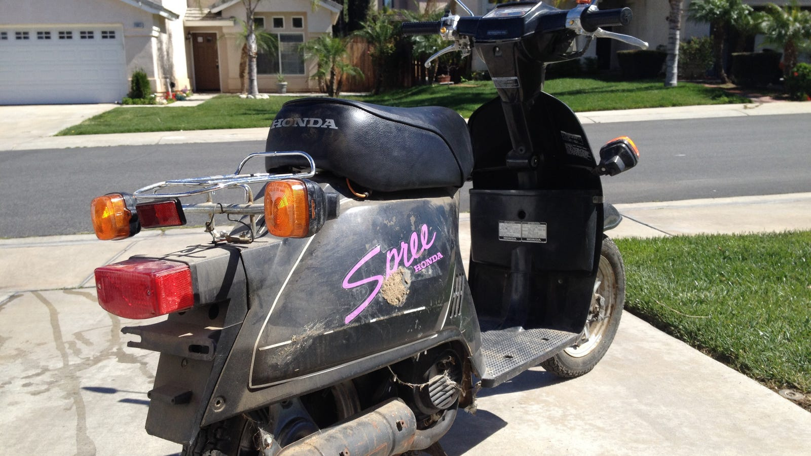 guide spree honda scooter gauges motor