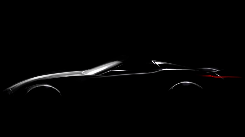 Illustration for article titled BMW Finally Teases Its New Roadster