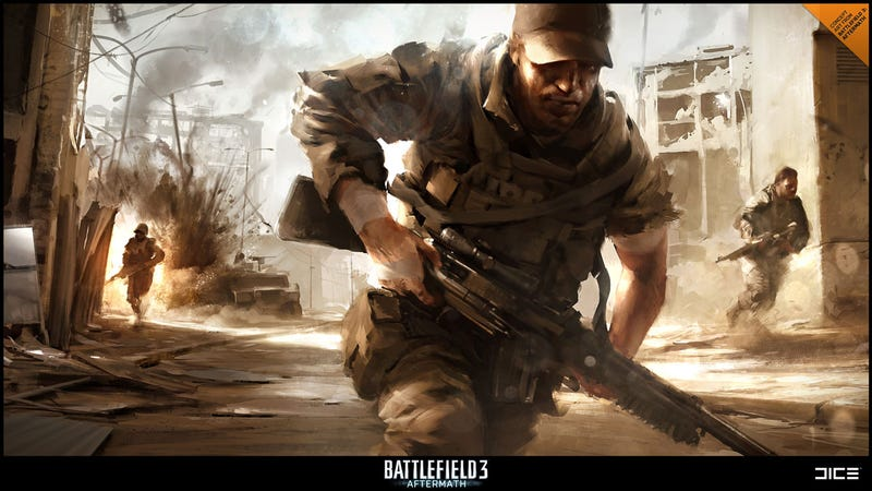 Illustration for article titled An Earthquake Sets the Scene for Battlefield 3's Next Map Pack