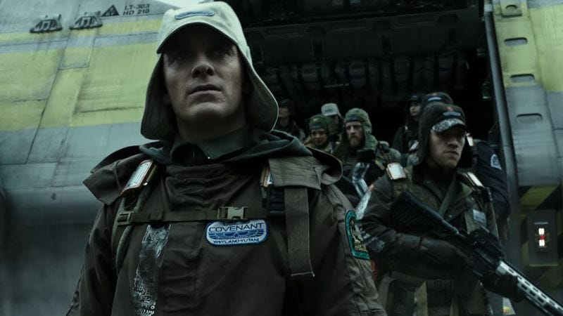 Illustration for article titled Things are looking apocalyptic in these spoilery new Alien: Covenant photos