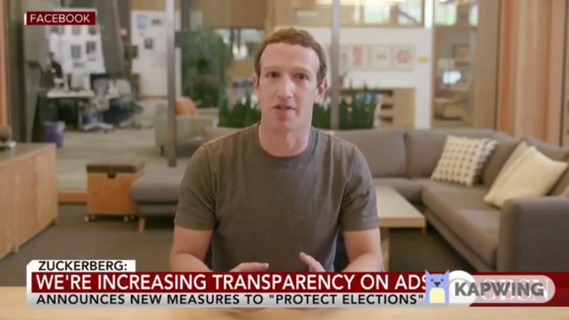 Deepfake Zuck, seen here gazing directly into your eyes.