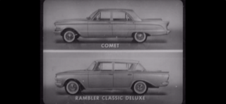 Illustration for article titled This Rambler v. Comet Filmstrip Is Just What You Need To See