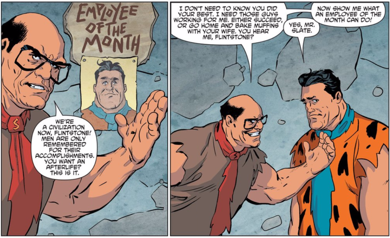 Image result for flintstones comics