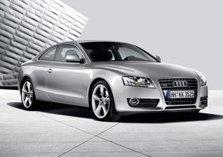 Illustration for article titled Audi A5 Images Go Netward Ahead of Geneva Reveal