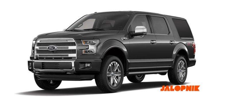 2018 Ford Expedition Looks Like That New Bronco You Ve Been Asking For