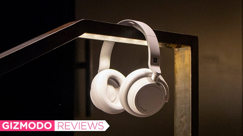 Microsoft Surface Headphones: Great-Looking But Not Great