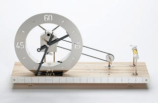 Illustration for article titled Clocks Don't Get Much More Naked Than This