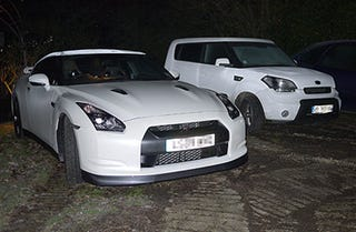 Illustration for article titled Nissan GT-R and Kia Soul: Separated At Birth?