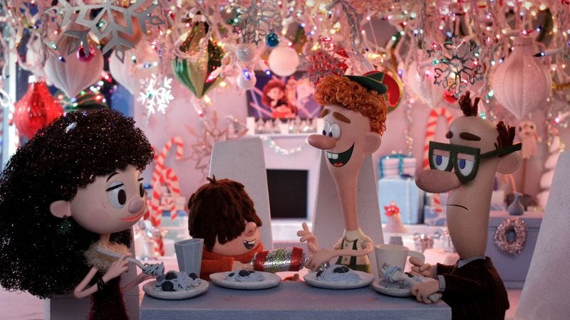 Illustration for article titled An animated retelling of Elf justifies its existence with visual daring