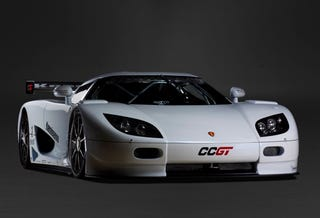 Illustration for article titled Geneva Pre-Show: Koenigsegg Competition Coupe GT Revealed