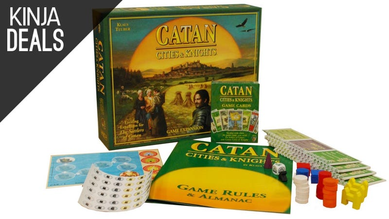 Illustration for article titled Transform Your Catan Game Nights With This Discounted Expansion