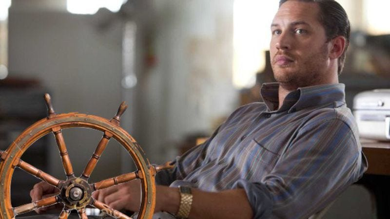 Illustration for article titled Tom Hardy and Ridley Scott onboard for maritime miniseries