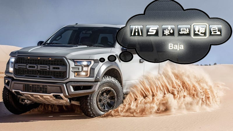 what the 2017 ford raptor 39 s off road modes really do an explainer. Black Bedroom Furniture Sets. Home Design Ideas
