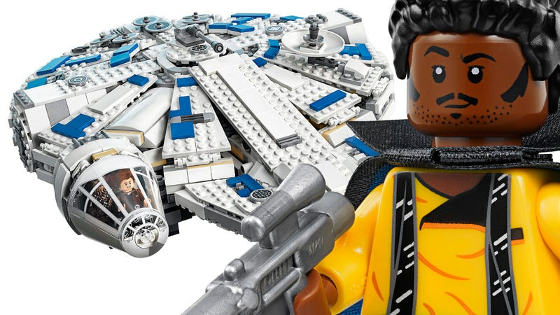 Illustration for article titled The New Lego Millennium Falcon Looks So Fine