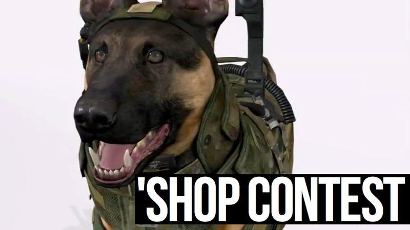 Illustration for article titled Kotaku 'Shop Contest: Dog Duty