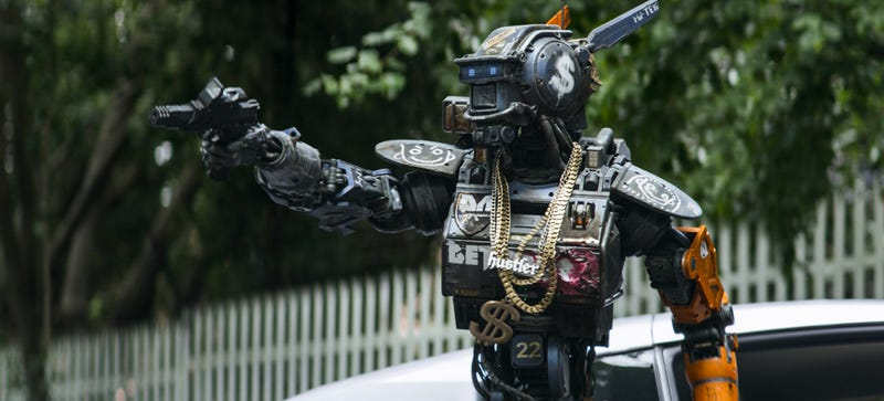 Illustration for article titled Chappie Is The Cutest Robot Ever To Star In Such A Bad Movie