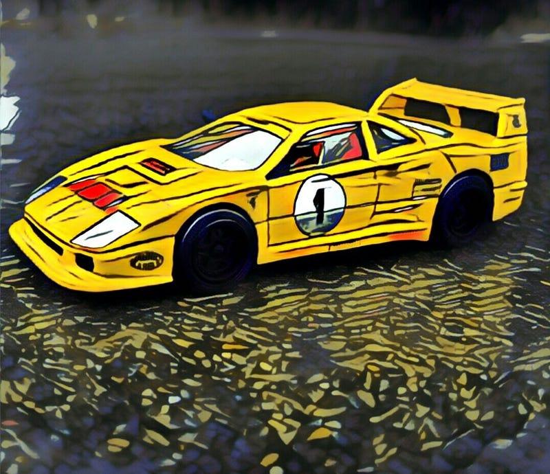 Illustration for article titled Spaghetti Sunday: F40