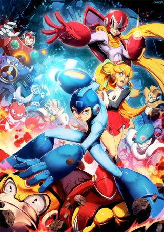 Illustration for article titled Mega Man Gets Genzo Powered
