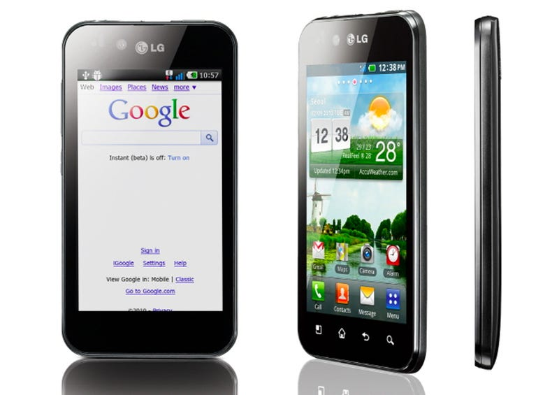 Illustration for article titled LG Optimus Black: Meet the World's New Slimmest Phone (For Now)