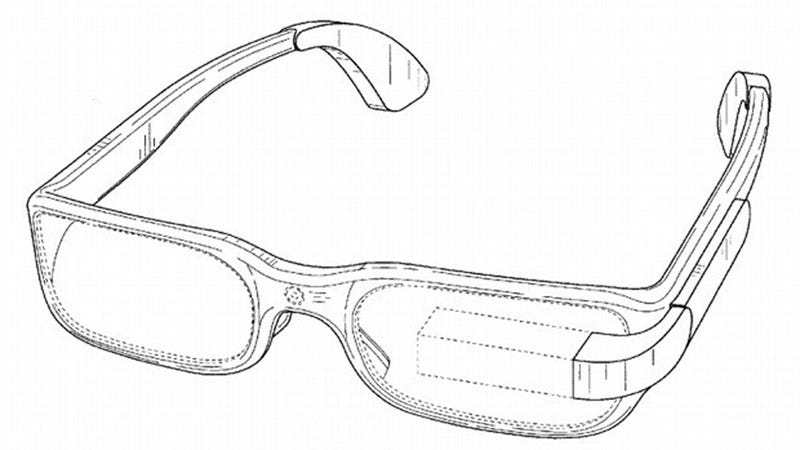 Illustration for article titled New Google Glasses Patent Gives a Shout Out to Left Eye(s)