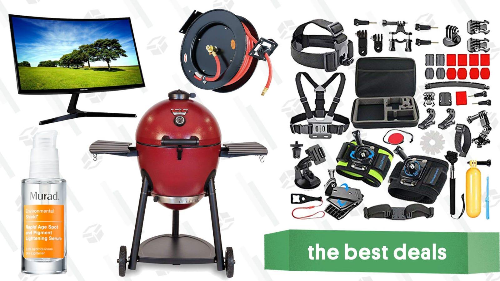 Saturday's Best Deals: Casper, Curved Computer Monitor, Murad Serum, and More
