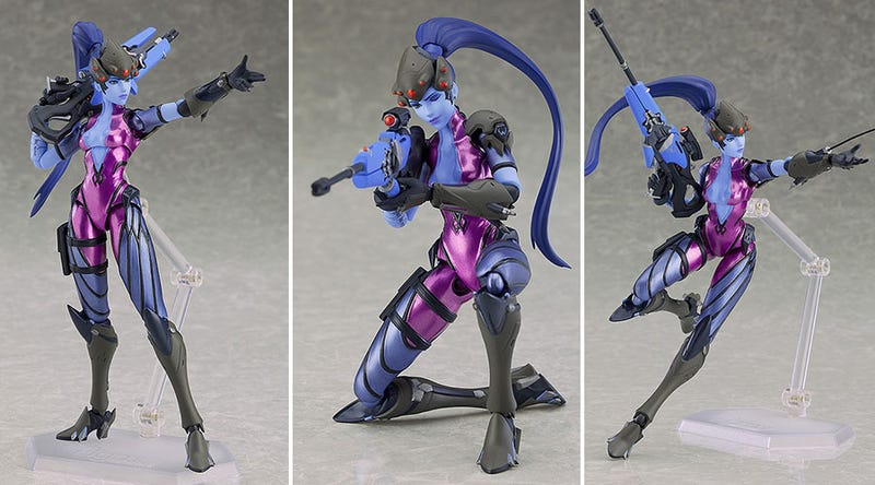 Illustration for article titled Widowmaker's Figma Is Very Nice