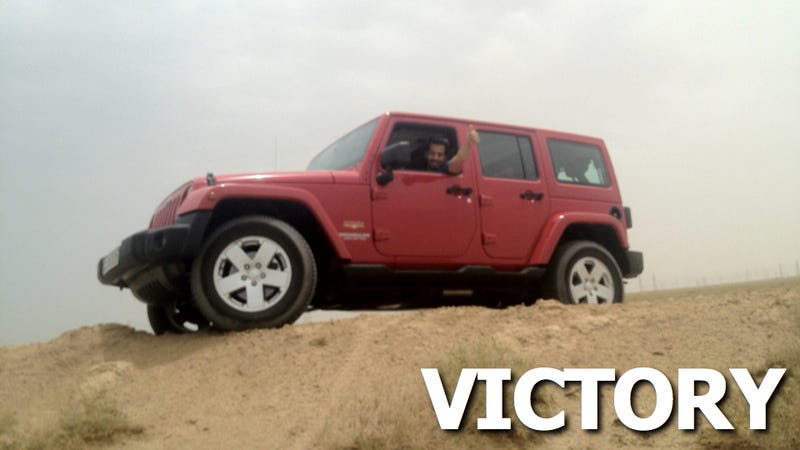 Illustration for article titled Jeep Dealership Caves, Gives Protester New Wrangler