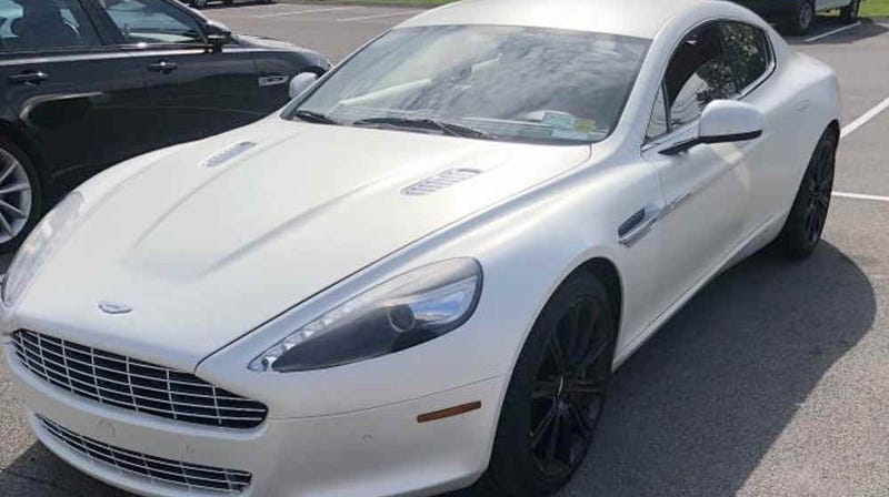 Illustration for article titled Could a $59,900 Price Have You Rushing to Buy This 2010 Aston Martin Rapide?