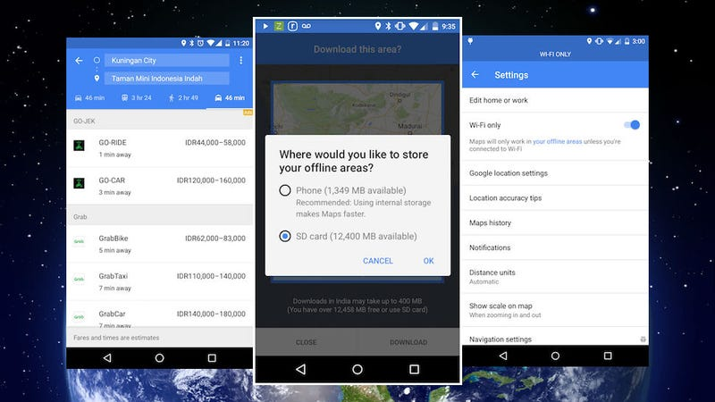 Google Maps' New Offline Features Make It Easier to Get Around Without Data