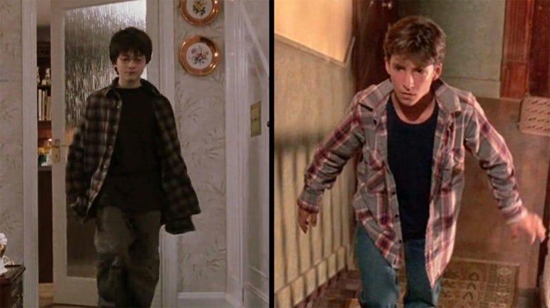 """Los """"Potter"""". A la izquierda el de Rowling, a la derecha el de Troll"""